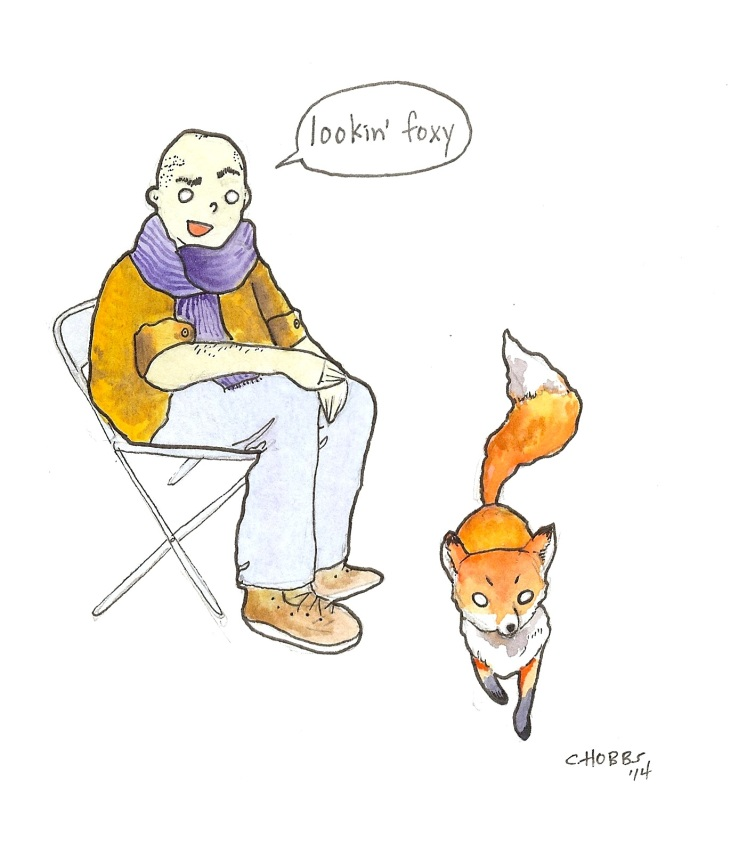 THE FOX SAYS FUCK OFF